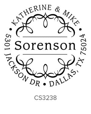 Custom Address Stamp CS3238