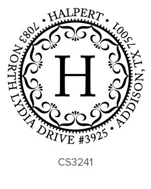 Custom Address Stamp CS3241