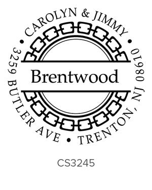 Custom Address Stamp CS3245