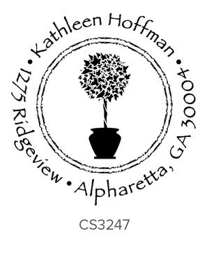 Custom Address Stamp CS3247