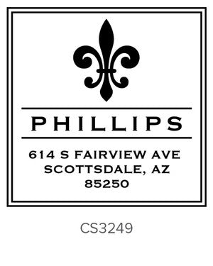 Custom Address Stamp CS3249