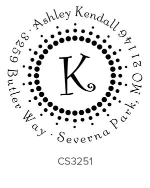 Custom Address Stamp CS3251