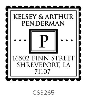 Custom Address Stamp CS3265