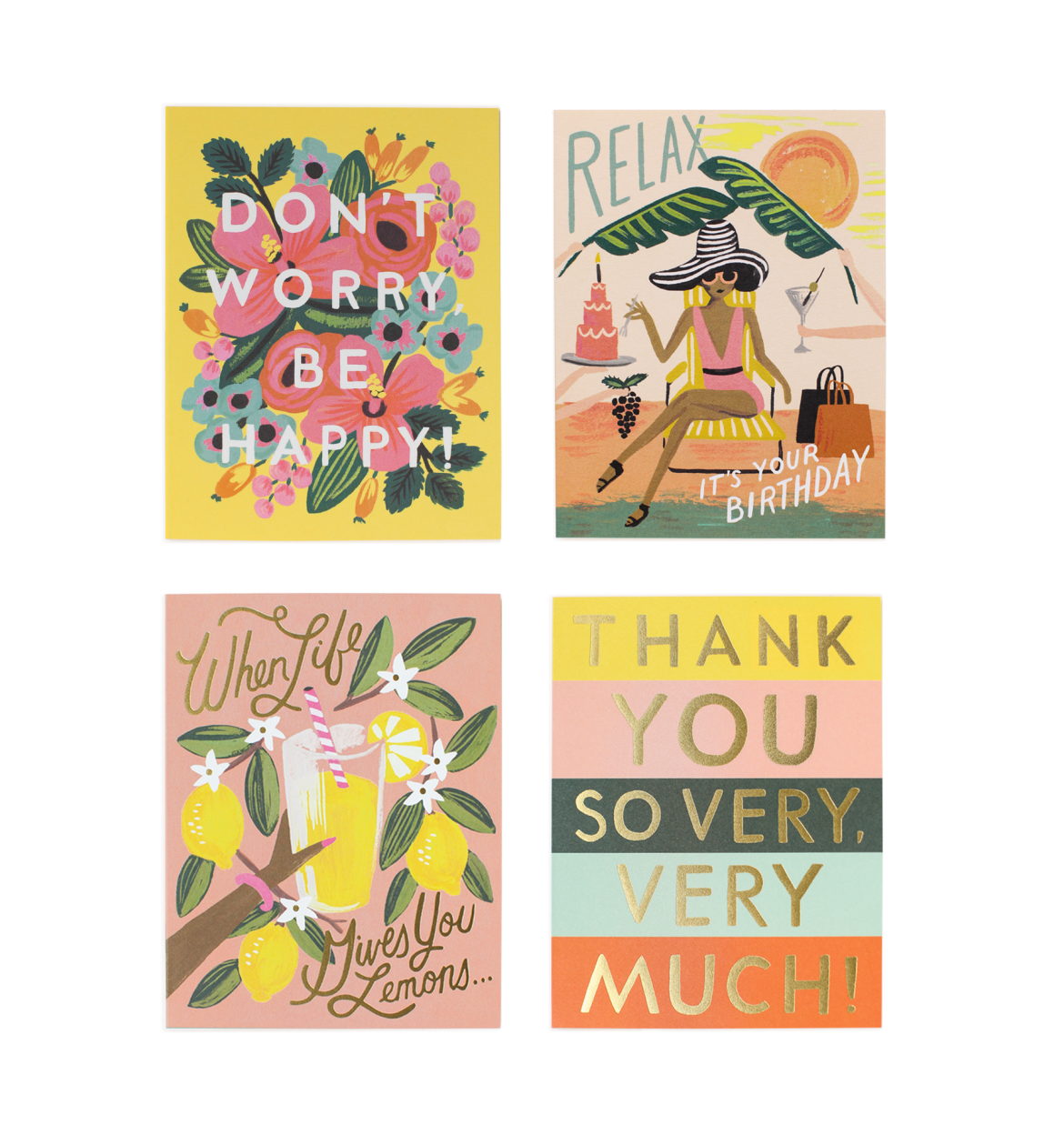 Rifle Paper Co. Happy Boxed Notes