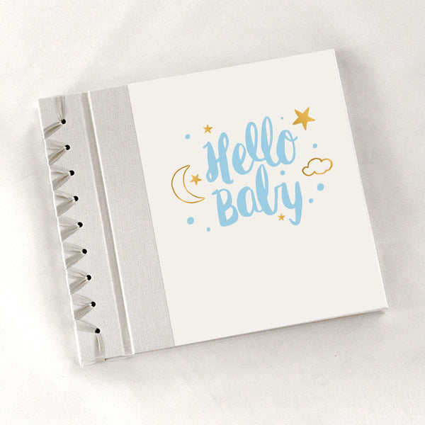 Baby's First Book Hello Baby - Blue