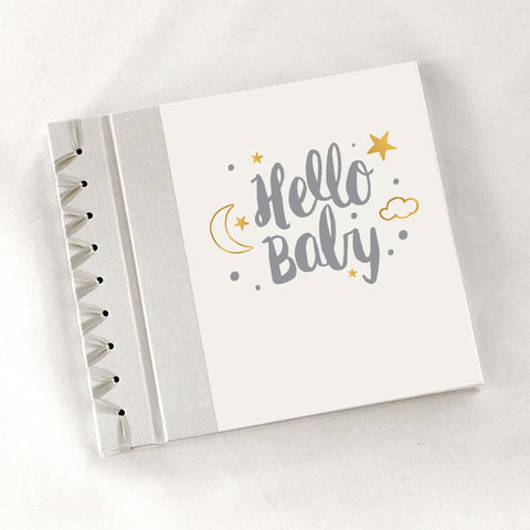 Baby's First Book Hello Baby - Gray