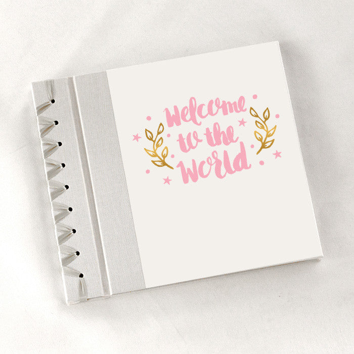Baby's First Book Welcome to the World - Pink