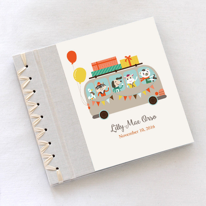 Personalized Baby's First Book Big Bus