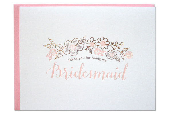 Bridesmaid Thank You Notes