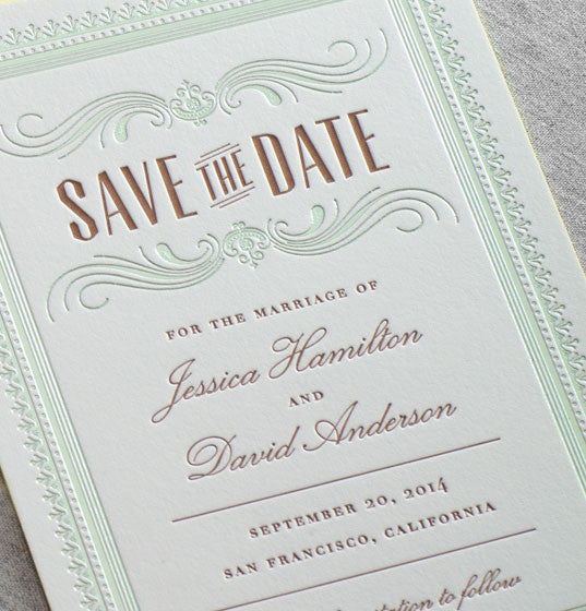 Hamilton Save the Date - Dauphine Press