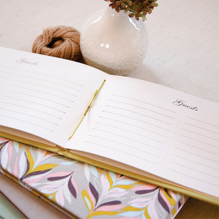 Classic Guestbook Natural Linen