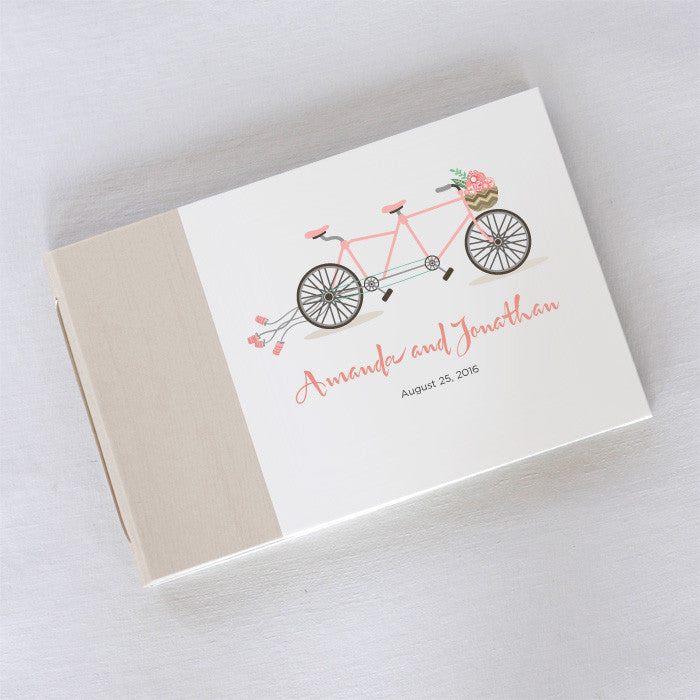 Personalized Guestbook Bike