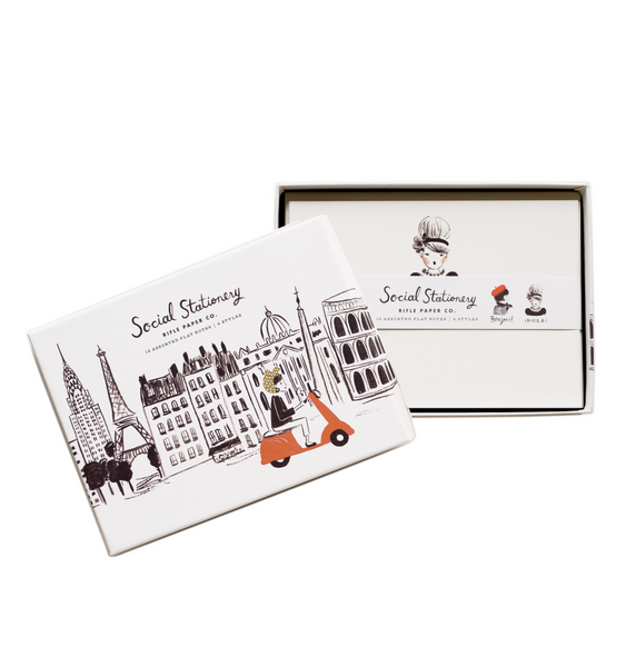 Rifle Paper Co. Global Greetings Social Stationery Set
