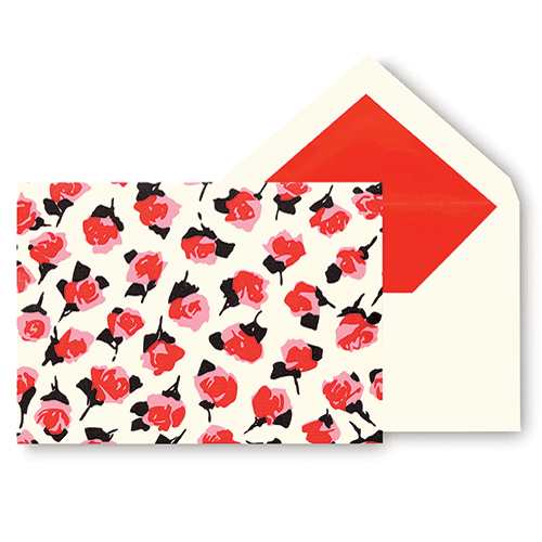 kate spade new york® roses notecards
