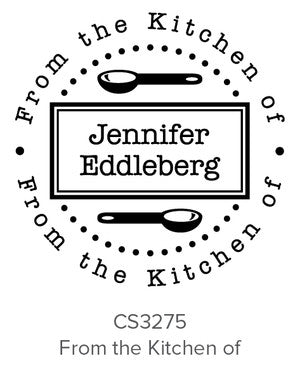 Custom Kitchen + Craft Stamp CS3275