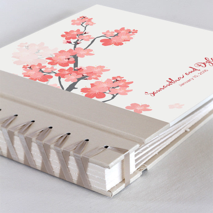 Personalized Large Album Cherry Blossom
