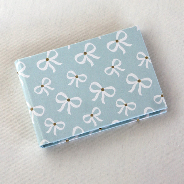 Brag Book Blue Bow