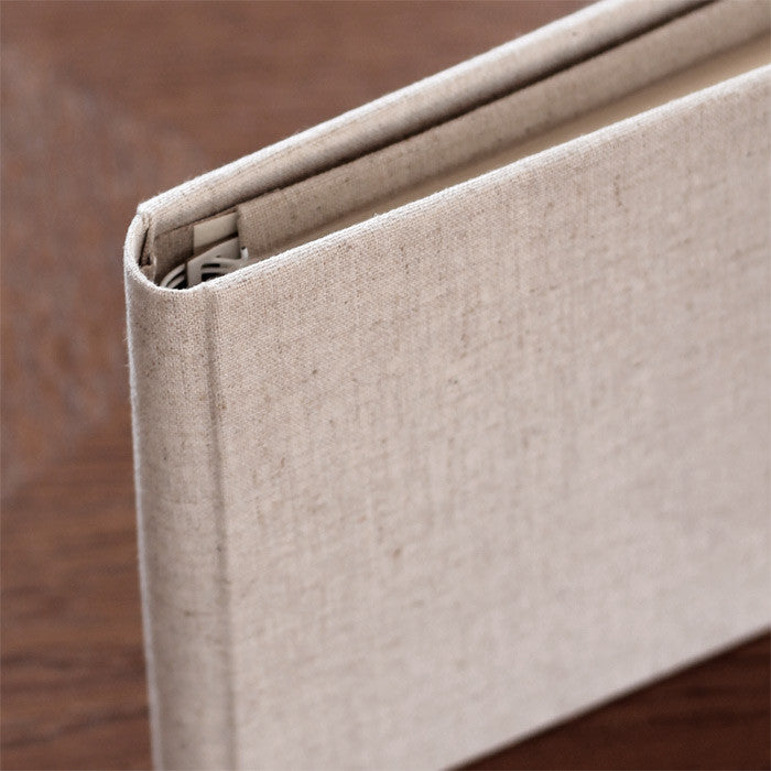 Brag Book Natural Linen