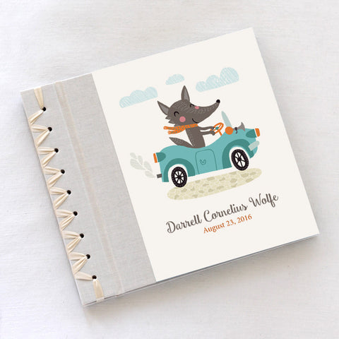 Personalized Baby's First Book Roadster