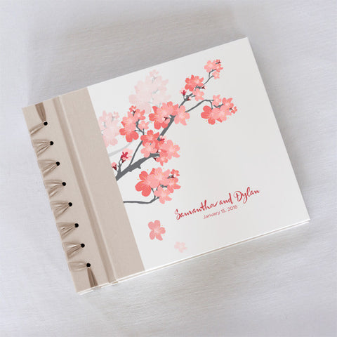 Personalized Small Album Cherry Blossom