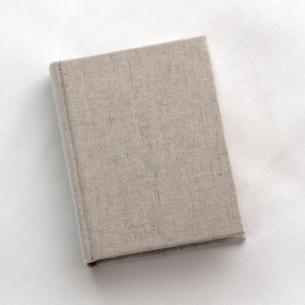 Small Journal Natural Linen