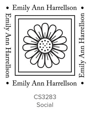 Custom Social Stamp CS3283