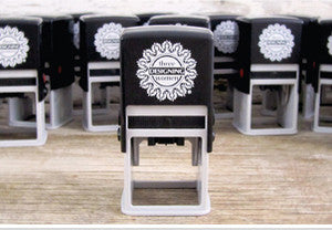 Custom Monogram Stamp CSM10017S