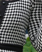 The Eddie Cardigan - Houndstooth
