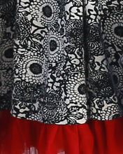 The Cinema Dress- Chrysanthemum Print