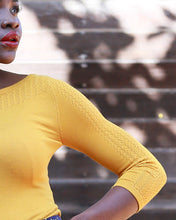 The Constance Pullover - Goldrush