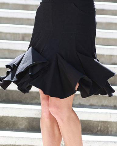 The Seven Year Skirt - Black