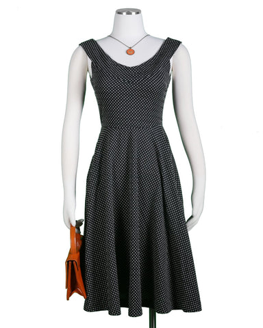 The Brighton Dress- A'Pois