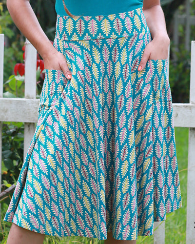The Sojourn Skirt- Festoon Print