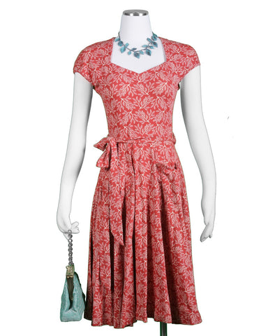 The Hedy Dress - Elm Print