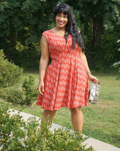The Daydream Dress - Langostino Print