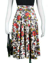 The Sojourn Skirt- Coquelicot Print