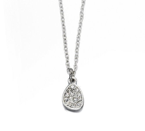 Fiorelli Delicate Irregular Crystal Pave Necklace