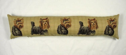 Tapestry Draught Excluder Yorkshire Terriers EL169