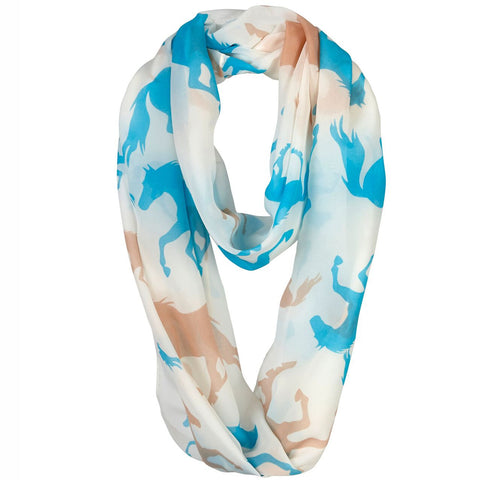 Infinity Horse Scarf AGG1050IV