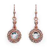 Fiorelli Rose Gold Crystal Earrings