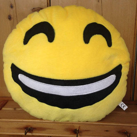 Smiling Emoji Cushion