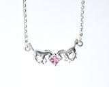 Carina Silver 'Collect' Horse & CZ Stone Necklace J004