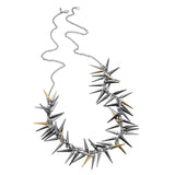 Fiorelli Long Spiked Necklace