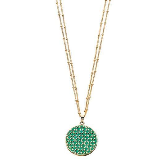 Fiorelli Necklace With Round Pendant
