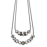 Fiorelli Double Strand Bead Necklace