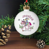 Bang on the Door Pony Girl Bauble