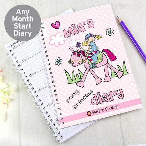 Bang on the Door Pony Girl A5 Diary