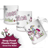 Bang on the Door Pony Girl Plastic Cup