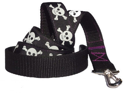 Skull & Crossbones Dog Lead