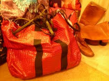 Big Crock Rock Bag with Diamente Horse Charm 4 Colourways YGHCROC